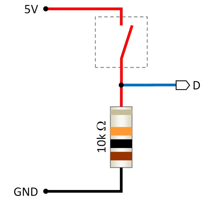 """Résultat de recherche d'images pour """"branchement interrupteur sur Arduino"""""""